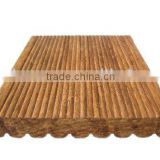 Strand Carburization/natural vertical high gloss solid bamboo board bamboo flooring