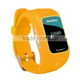 SIM card inserted the kids gps watch two-way communicate with the mobile phone telephone