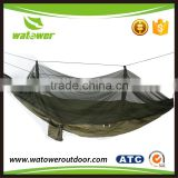 NBWT stable quality polyester netting covered military hammock mosquito net