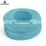 VDE Cloth Covered Round Electrical Cord - Vintage Fabric Braid Lamp Pendant Wire                                                                         Quality Choice