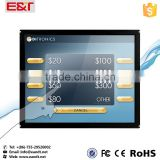 19 inch IR infrared touch screen overlay kit/multi IR touch frame for lcd monitor
