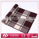 Wholesales factory 100% Wool classical Scarves men's tartan Pashmina scarf