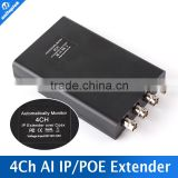 Signal Transmission Amplifier a Cable Can Extend 2500 Meters HD 4ch POE Extender with Auto-Monitor