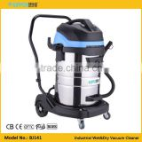 Three Motor 80L Heavy Cleaning Machine Industrial Wet and Dry Vacuum Cleaner