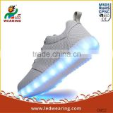 WOMEN`S led sneakers simulation led shoes