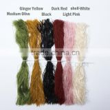 super slime assorted Color Pearl Flake Fly Tying Material Squid rubber thread silicone skirts