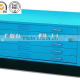 Modern Office Furniture 5 Drawers Steel Flat File Cabinet DW series