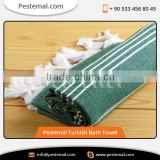 Cacala Pestemal Turkish Traditional Towel 100 Percent Cotton for Bath Sauna 37,70inch Army Green