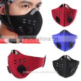 2016 Wholesale Anti Dust Bicycle Bike Cycling Motorcycle Racing Ski Half Face Mask Filter