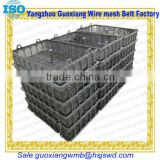 Stainless steel cage or iron basket or gabion box