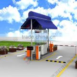 TCP/IP Access Control Vehicle Parking System with Exit and Entrance Car Park Terminal
