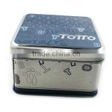 high-end donguan fossil watch packaging tin box