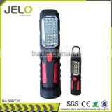 Ningbo JELO Sales promotion Super Bright 36+1LED Work Light Outdoor Stand Lamp With Folding Hook Magnet