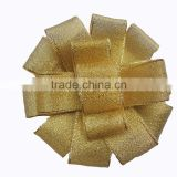 Wholesales Gold bows,Satin bow, christmas decoration ribbon bows flowers, gift Packing bows,196 colors available