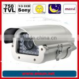 Sony 750 TVL 0.001lux (B/W) 30 Meter IR distance camera for car number plate recognition camera