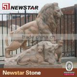 Newstar Marble Lion Sculpture