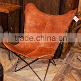 hardoy butterfly chair, Metal Leather hardoy butterfly chair