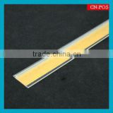 supermarket plastic rail with adhesive tape/magnet tape