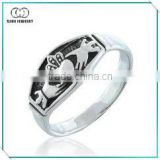 High Quality Antique Silver Celtic Rings