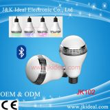 RGB color changing music LED smart bluetooth led bulb speaker