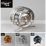 Singnol FA60 Full Metal Aluminum Fly Fishing Reel Fly Reel CNC Precision Processing one-way ball bearing design