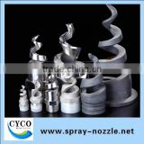 Alibaba trade assurance Dongguan silicon carbide/stainless steel spiral water spray nozzle