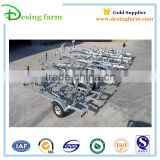 Hot galvanized inflatable boat trailer for hot sale