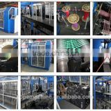 rope machine for PP split film, PP tape yarn/twisted rope making machine/rope making machine: https://youtu.be/US9tS_LlJMs