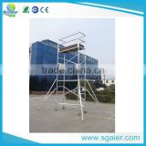 Multipurpose rising aluminium scaffolding mobile tower truss