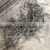 automatic scrap steel bar recycling machine for processing iron nail