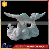 China handcrft garden mermaid statue italian stone tables NTS-B174S