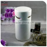white glossy glaze ceramic oil burner for spa