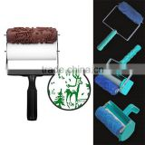 INquiry about DIY 3D Paint Roller Brush Design Rubber Paint Roller Decorative Paint Roller