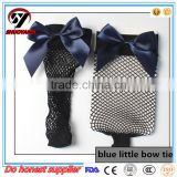 Fashion Lady Girl Women Sexy Lace Fishnet Mesh Ankle High Socks, white socks with color bow tie
