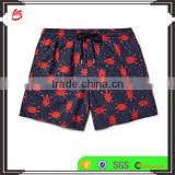 2017 summer 100% polyester swiming short mens sexy custom beachwear board shorts swimwear