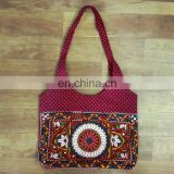 Traditional Indian small Banjara Badmeri Rajsthani Boho Banjara Tote Bag-Tribal Bag Wholesale kutchi embroidery shoulder bag