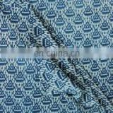 Indigo Hand Block Printed Fabric