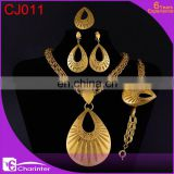 free shipping big fashion jewelry set/dubai gold jewelry set / wedding jewellery designs