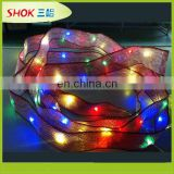 Outdoor decoration led underwater string lights for wedding