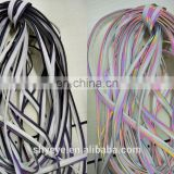 Reflective Piping for clothing Reflective Rainbow tape colourful Piping