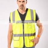 high visible breathability reflective safety vest