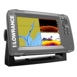 Cheap LOWRANCE HOOK²-7 CHARTPLOTTER/FISHFINDER SPLITSHOT TM TRANSDUCER