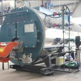 Fire tube 100bhp 1.5 ton oil gas steam boiler price