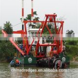 HL500 20-inch 4000m3/H Dredger, Ship for India Market, Good Solid Capacity