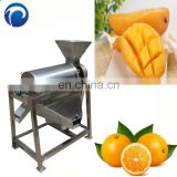 Automatic Mango Pulp Making Juice Extractor Production Line Peeling Pitting Juicer Beating Mango Beater Machine