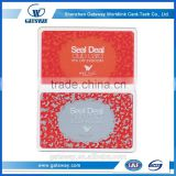 2015 Custom New Design Blank Transparent Business Cards