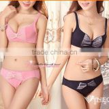 We Have Stocks Young Girls Breathrable Underwear Cotton Push Up Bra Set Lingerie For Winter/Autumn 150set/Lot