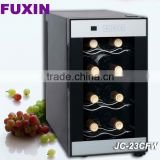 FUXIN:JC-23CFW .Table Top Fridge with 8Bottles / Mini wine chiller /electric beverage coolers.