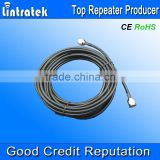 lintratek communication cables 15 meters with 2 N-female connectors 5D jumper cable for mobile signal repeater use