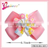 Wholesale hair jewelry from China ribbon bow with metal clip,wholesale pull bows